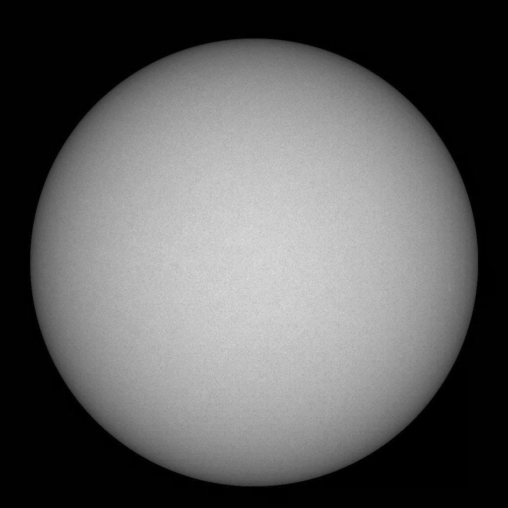 Over a three-week period July 3-24, 2018, NASA's Solar Dynamics Observatory observed the Sun produced just one small, short-lived sunspot -- an almost spotless record.