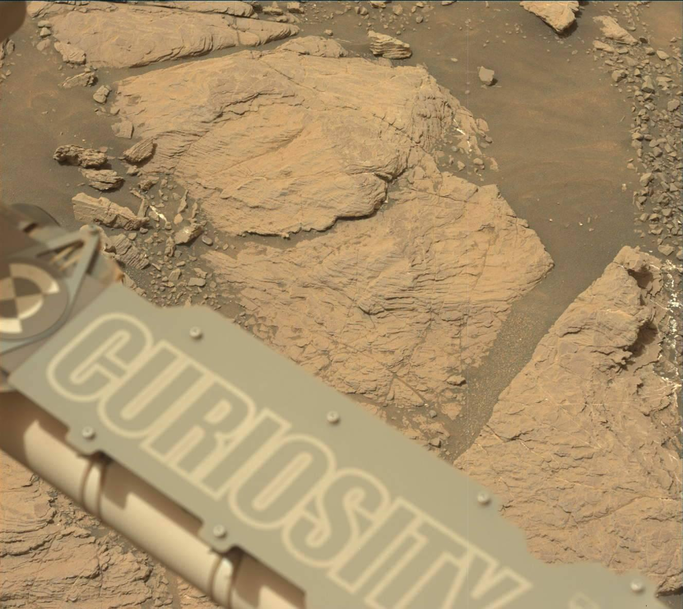 Space Images | Curiosity on the Clay Unit