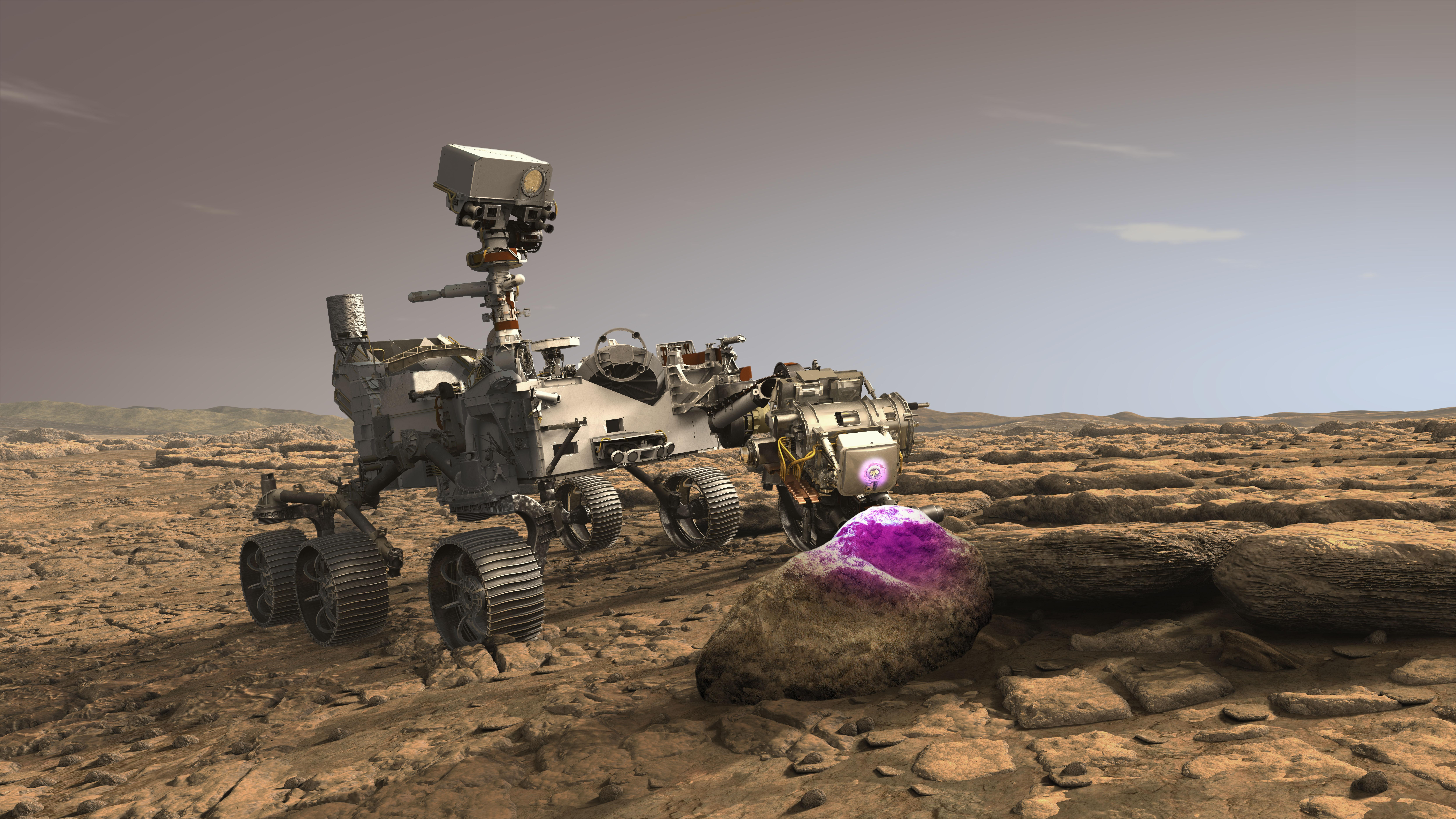 Space Images | Perseverance's PIXL at Work on Mars ...