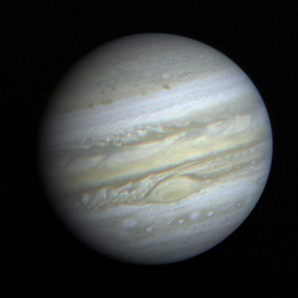 Space Images | Jupiter Full Disk with Great Red Spot
