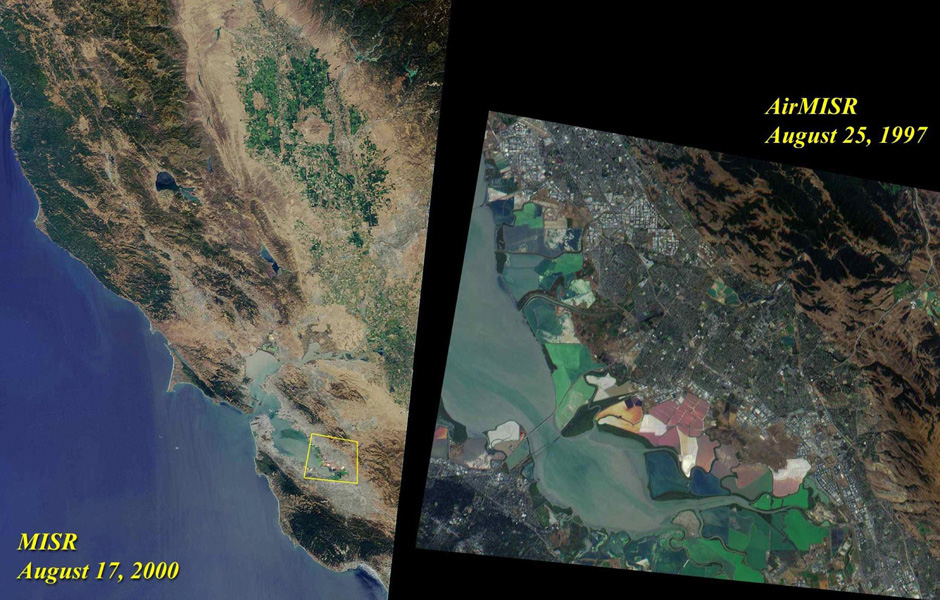 Space Images | Northern California and San Francisco Bay