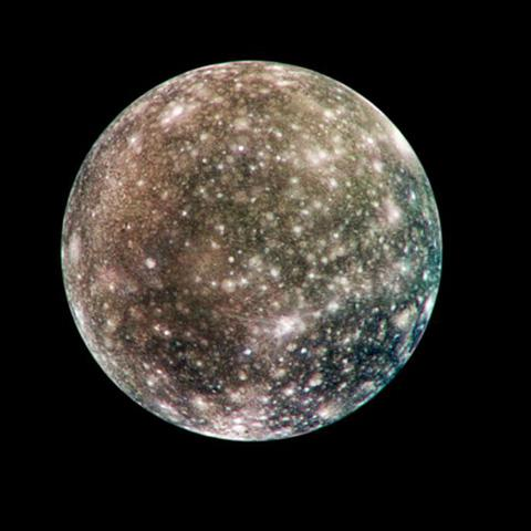 space images global callisto in color