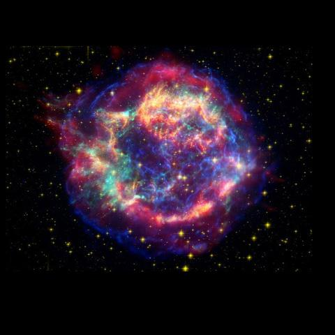 Space Images Cassiopeia A Death Becomes Her