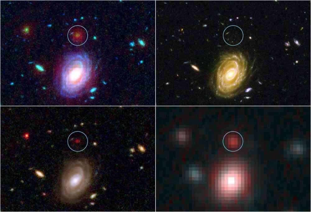 Space images wallpaper search nasa jet propulsion laboratory this image demonstrates how data from two of nasas great observatories the spitzer and hubble voltagebd Choice Image