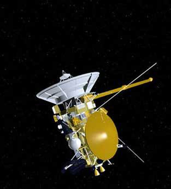 Space Images   Artist's Concept of Cassini Spacecraft