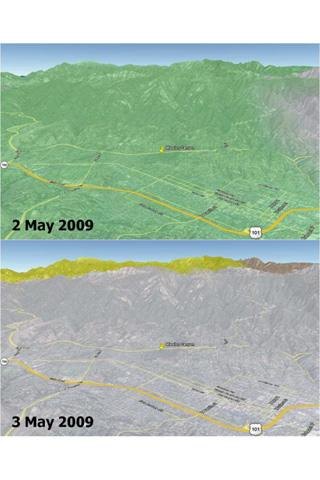 Wildfires are a recurring natural hazard faced by Californians. In Santa Barbara County, a wildfire, called the Jesusita fire, ignited on May 5, 2009 in the Cathedral Peak area northwest of Mission Canyon.