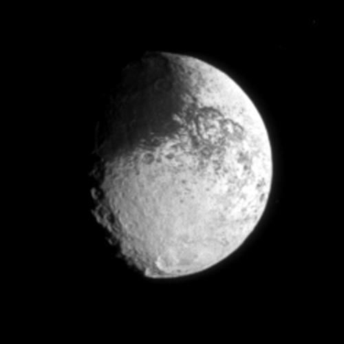 Space Images Yin Yang Iapetus