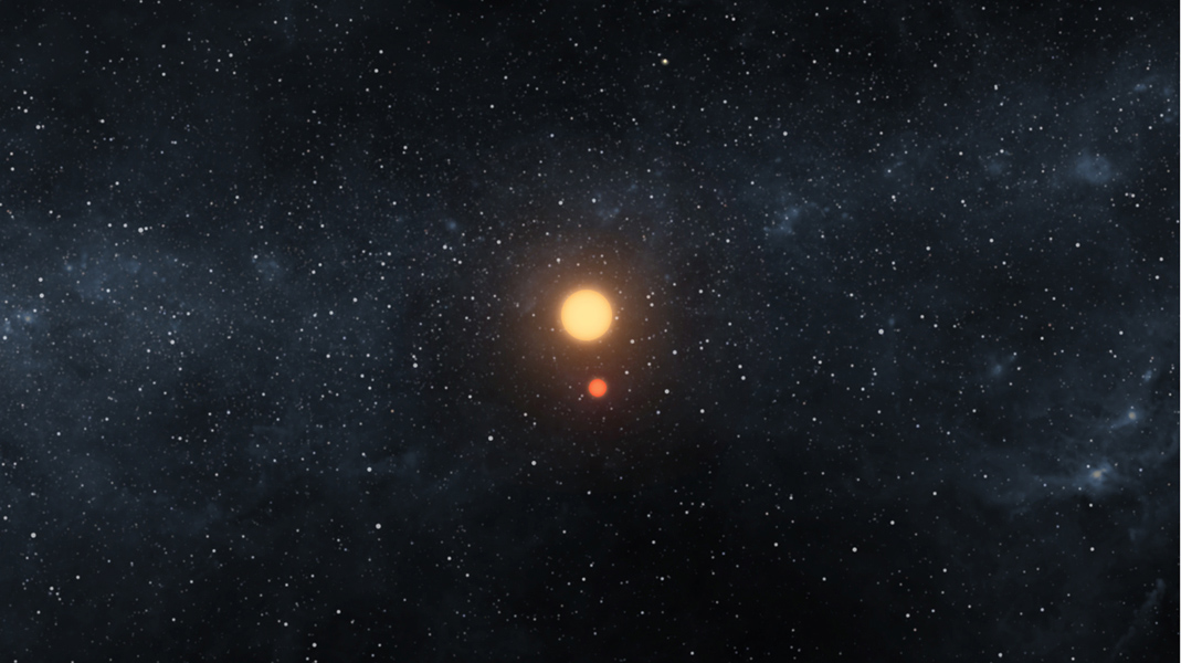 Space Images | A Dance of Two Suns and One Planet (Artist ...