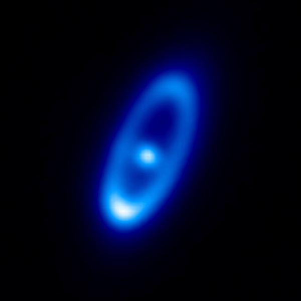 New data from the Herschel Space Observatory suggest comets are constantly smashing together around the star Fomalhaut, a young star, just a few hundred million years old, and twice as massive as the sun.