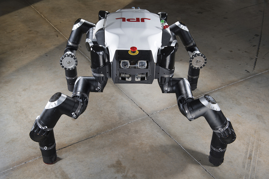 A four-legged robot