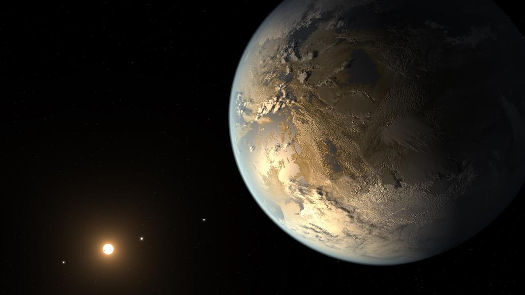 Kepler 186f NASA Artist conception