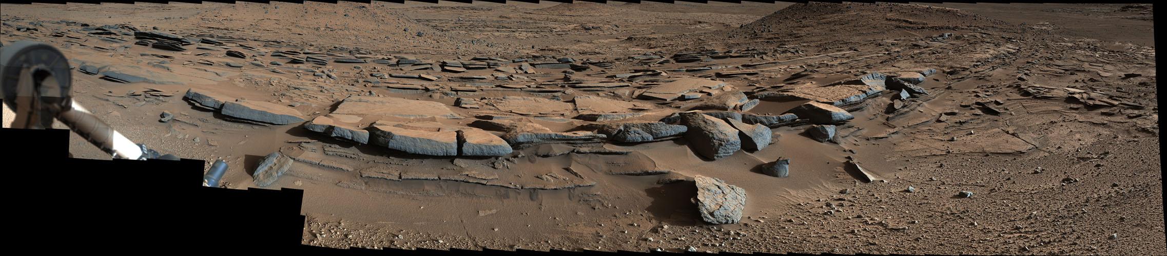 Mars rover mastcam