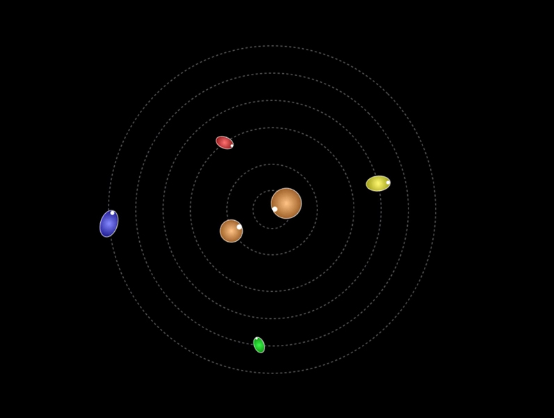 spinning solar system animation - photo #46