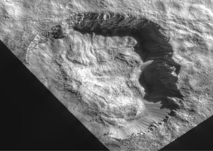 Juling  Crater in LAMO