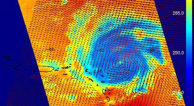 Hurricane Frances as Observed by NASA