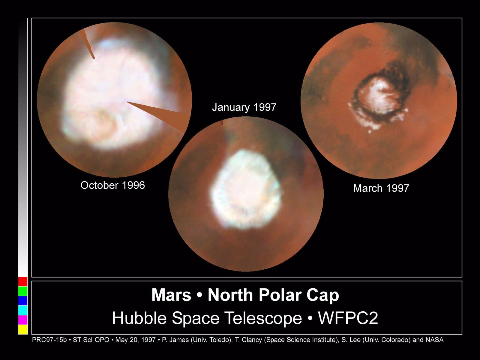 Space Images Seasonal Changes In Mars North Polar Ice Cap Images, Photos, Reviews