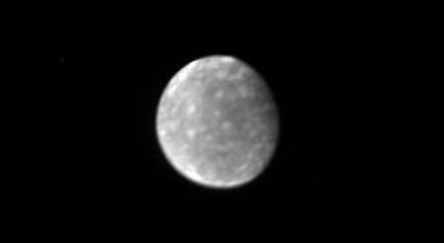 This is NASA's Voyager 1 picture of Callisto, the outermost Galilean satellite, taken Feb. 28, 1980. Callisto is the darkest of the Galilean satellites but is still nearly twice as bright as the Earth's Moon.