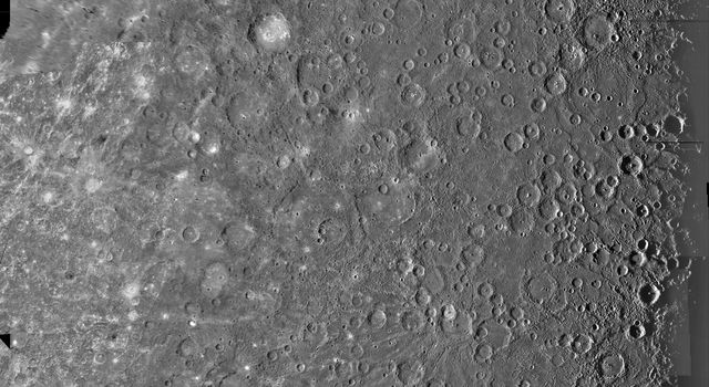 Mercury: Photomosaic of the Kuiper Quadrangle H-6