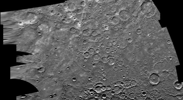 Mercury: Photomosaic of Borealis Quadrangle H-1