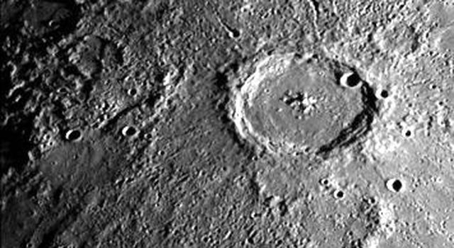 Large Mercurian Crater