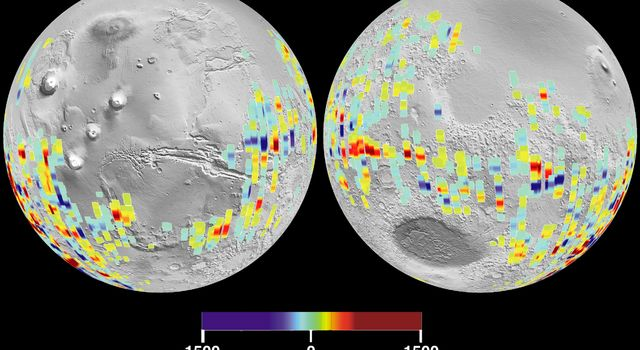 Mars Crustal Magnetic Field Remnants