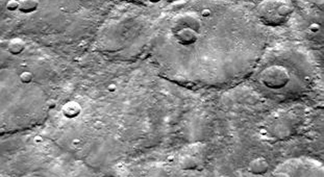 Dark-rimmed Crater and Extensive Ejecta Blanket