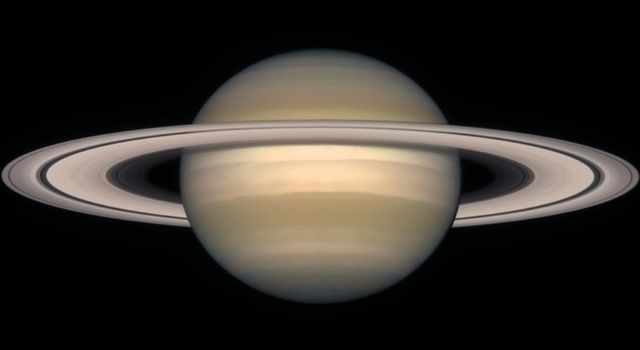 A series of NASA Hubble Space Telescope images, captured from 1996 to 2000, show Saturn's rings open up from just past edge-on to nearly fully open as it moves from autumn towards winter in its Northern Hemisphere.