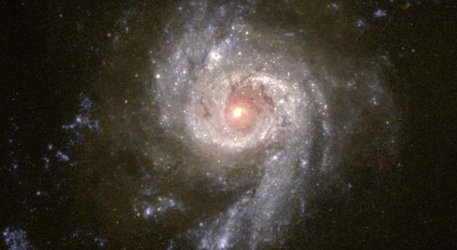 Scientists using NASA's Hubble Space Telescope are studying the colors of star clusters to determine the age and history of starburst galaxies, a technique somewhat similar to the process of learning the age of a tree by counting its rings.