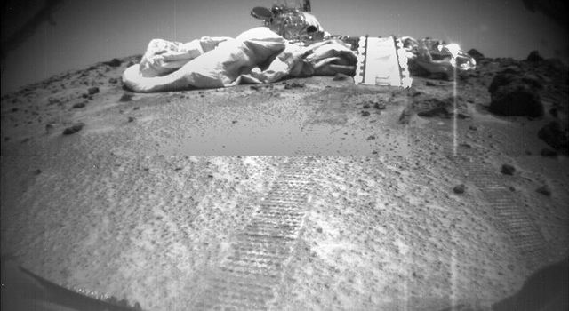 The Second Rover Image