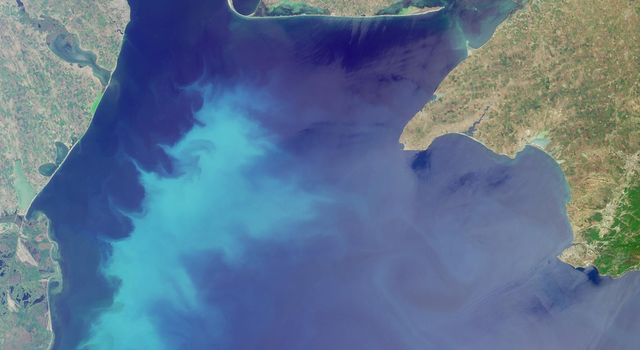 The Black Sea is shown in this MISR Mystery Quiz #19 captured by NASA's Terra spacecraft.