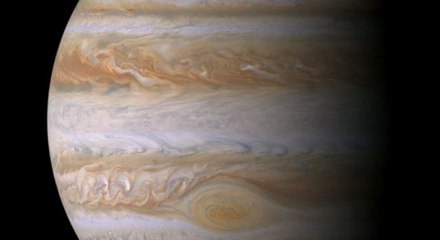 This true color mosaic of Jupiter was constructed from images taken by the narrow angle camera onboard NASA's Cassini spacecraft, during its closest approach to the giant planet and is its most detailed portrait.