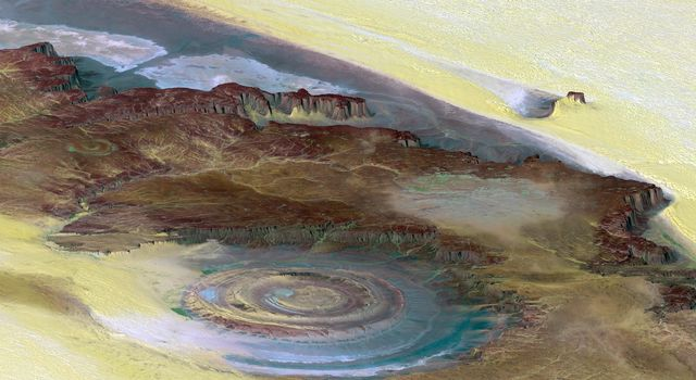 Richat Structure, Mauritania