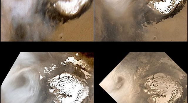 Celebrating 8 Years at Mars: Repeated Weather Events