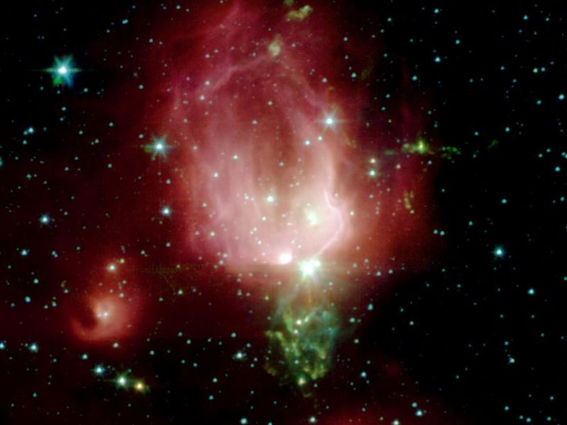 Space images spitzer telescope sends rose for valentine - Spitzer space telescope wallpaper ...