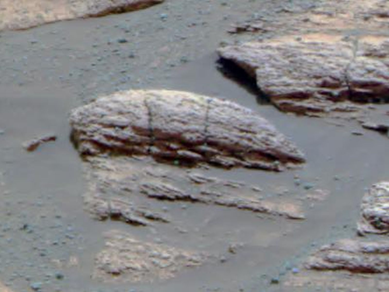Space Images | Ripples in Rocks Point to Water