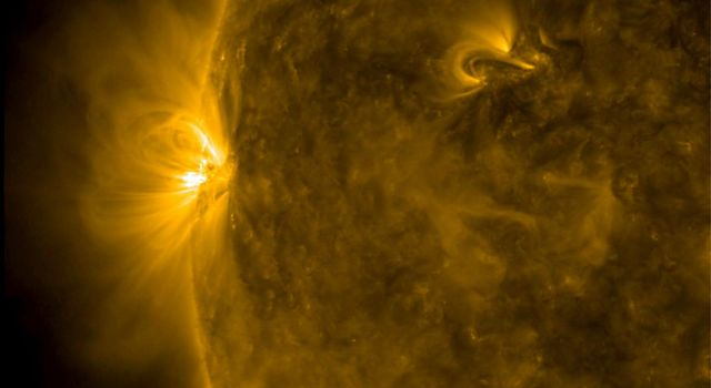 Small but Dynamic Active Region