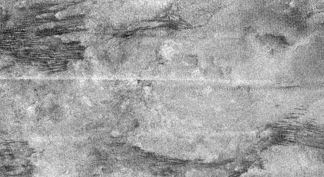 This image is a portion of the swath acquired by NASA's Cassini Titan radar mapper on Feb. 15, 2005, on the mission's second opportunity to image the surface with radar.The optically bright region is named Xanadu.