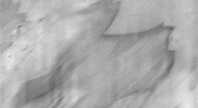 This image is part of THEMIS art month, taken by NASA's Mars Odyssey featuring a portion of Mars' landscape looking like a camel, or maybe a dragon.