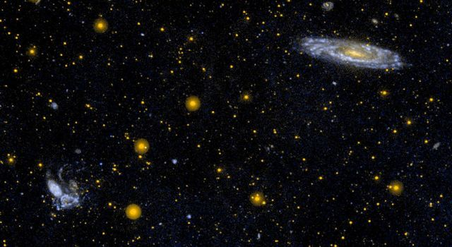 Interacting Group of Galaxies Known as Stephan