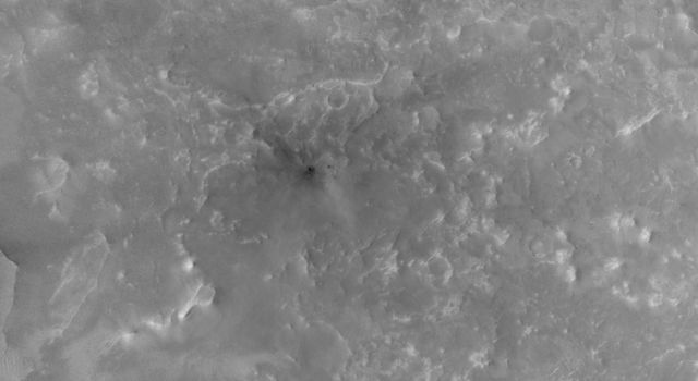 Second of Two Fresh Impact Crater Sites With