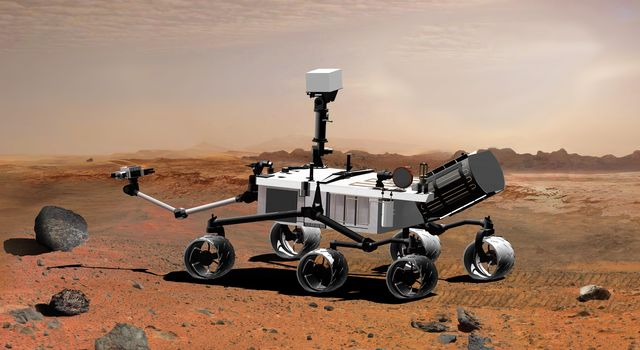 NASA's Mars Science Laboratory, a mobile robot for investigating Mars' past or present ability to sustain microbial life, is in development for a launch opportunity in 2011 (previously 2009).