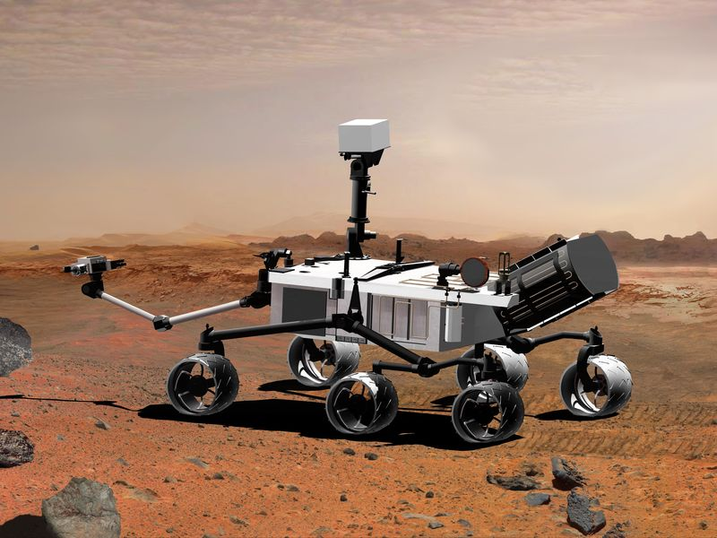 Rover of NASA 'Opportunity' on mars