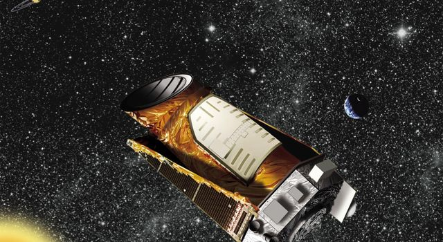 Kepler in Space (Artist Concept)
