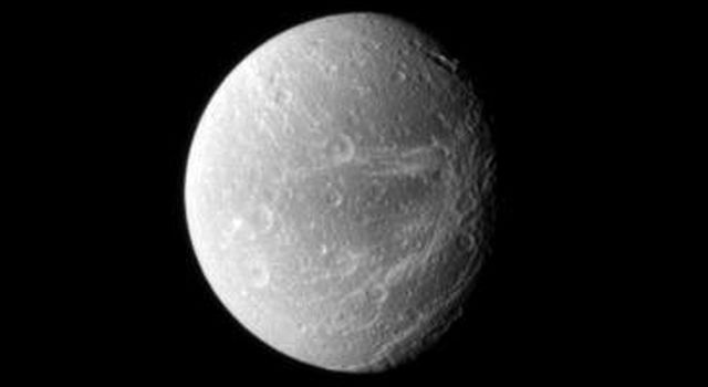 Like the Voyager spacecraft that came before, NASA's Cassini spacecraft chronicles 'wispy' terrain on Saturn's moon Dione.
