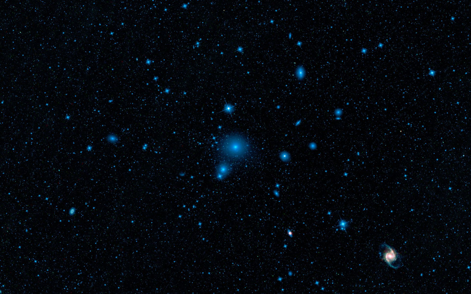 Space Images | Fornax Galaxy Cluster