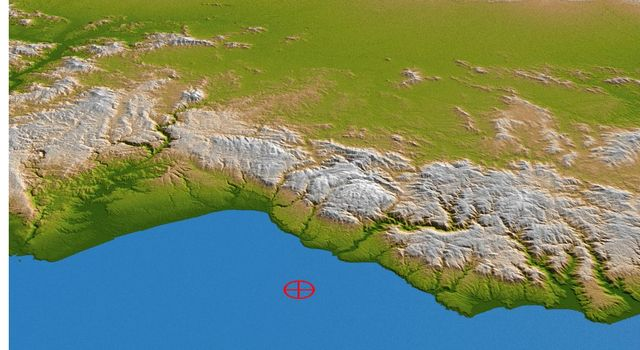 Coastal Chile (Perspective View)