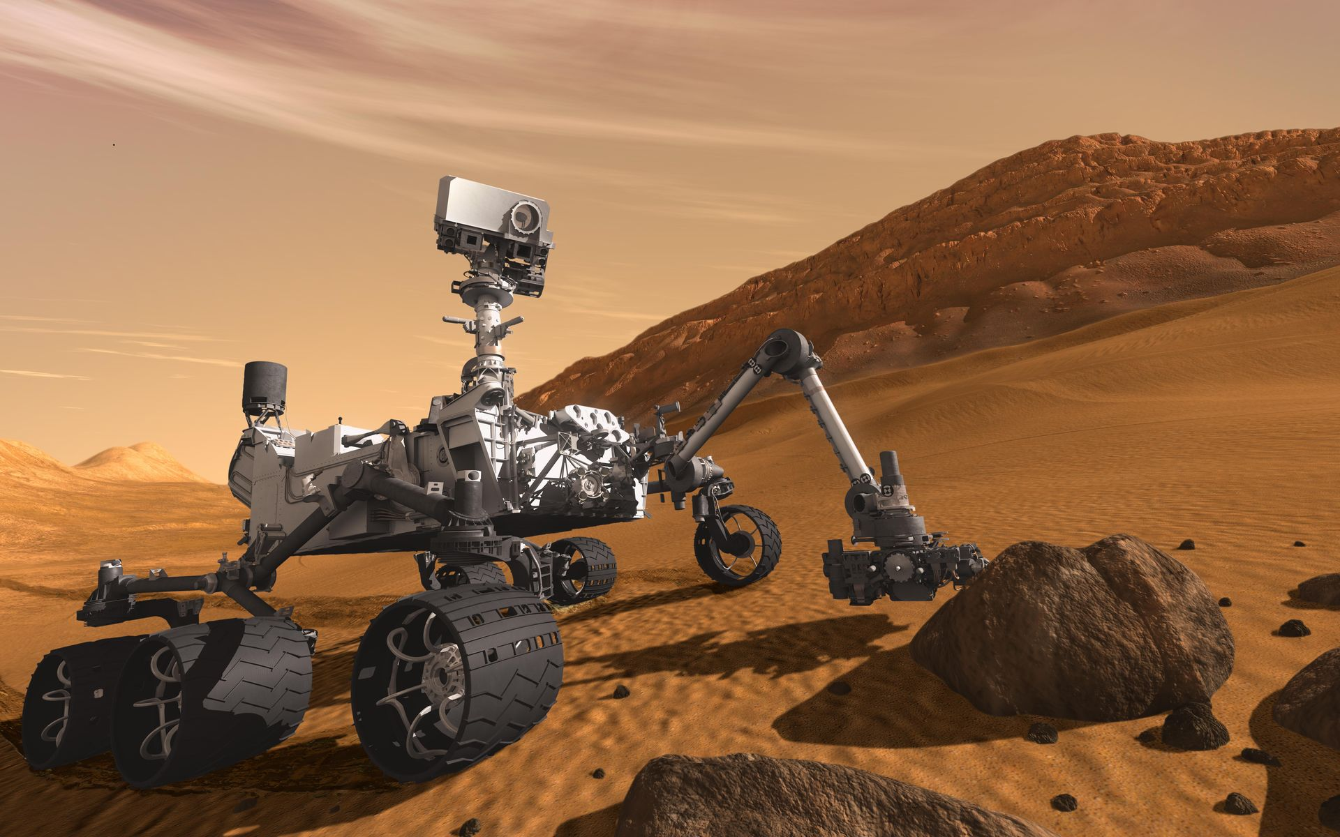 Image result for mars rover curiosity