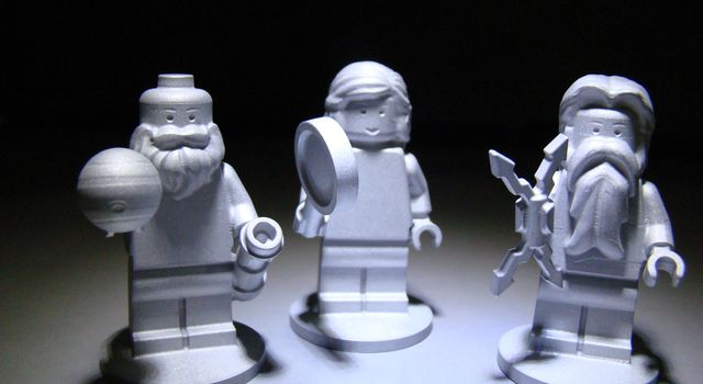LEGO Figurines Riding Along with Juno