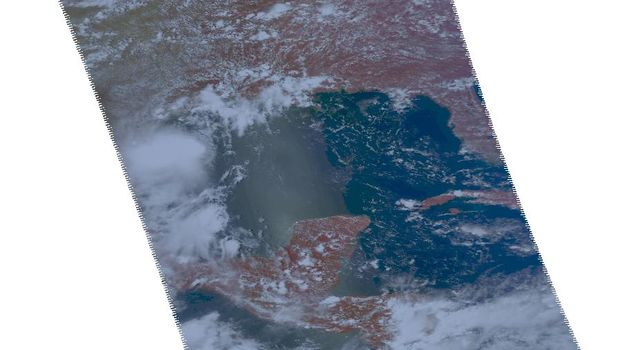 NASA's Aqua spacecraft passed over Tropical Storm Don at 8:17 UTC (1:17 a.m. EDT) on July 29, 2011. Texas is experiencing exceptional drought conditions; Tropical Storm Don may bring relief.