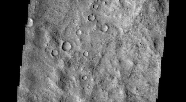 An unnamed channel dissects the surface of Terra Cimmeria as seen by NASA's 2001 Mars Odyssey spacecraft.